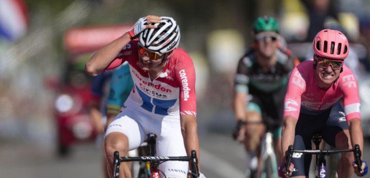 Mathieu van der Poel wint de Amstel Gold Race na sensationele finale