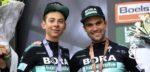 Formolo en Schachmann bezorgen BORA-hansgrohe kampioenstruien