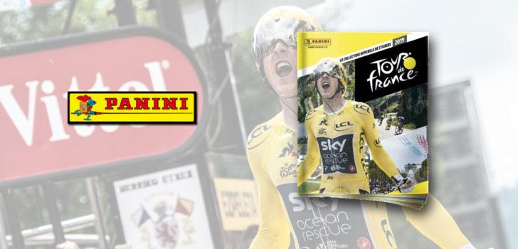 Verzamelaars opgelet: Panini komt met Tour de France-album