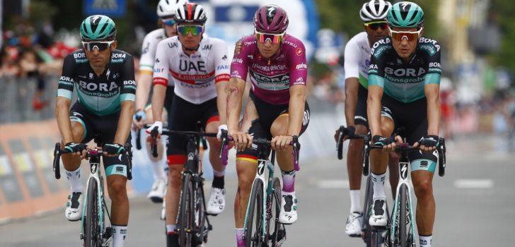 Giro 2019: Schade valt mee bij gevallen Ackermann