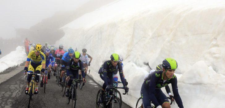 Giro 2019: Passo di Gavia definitief uit Giroparcours geschrapt