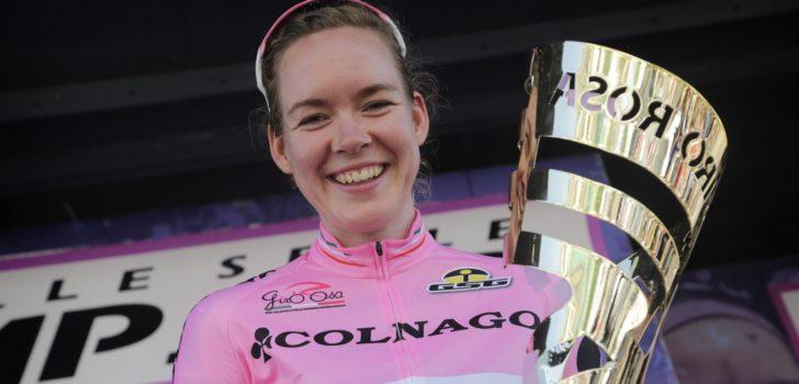 Anna van der Breggen rijdt dit jaar wél Giro Rosa