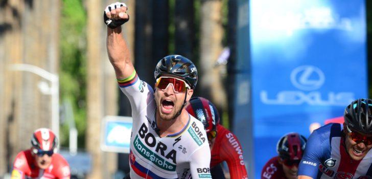 Peter Sagan pakt gewenste ritzege in eerste etappe Tour of California
