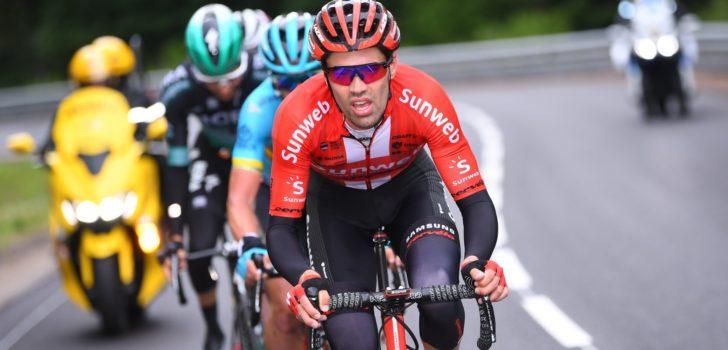 Tom Dumoulin stapt uit voorzorg uit het Critérium du Dauphiné