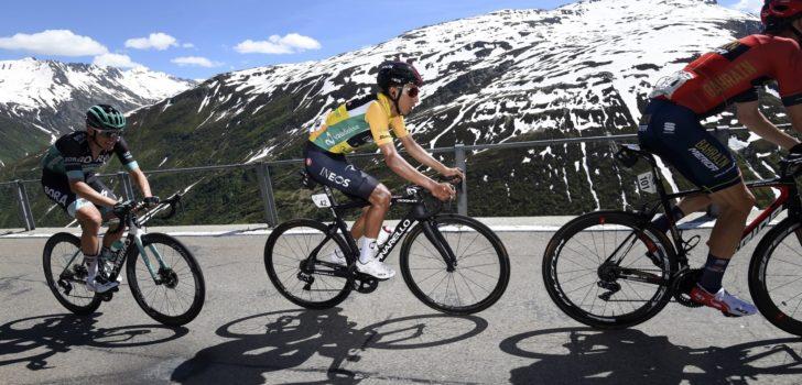 Bernal eindwinnaar Zwitserland, Carthy met nummertje in slotrit