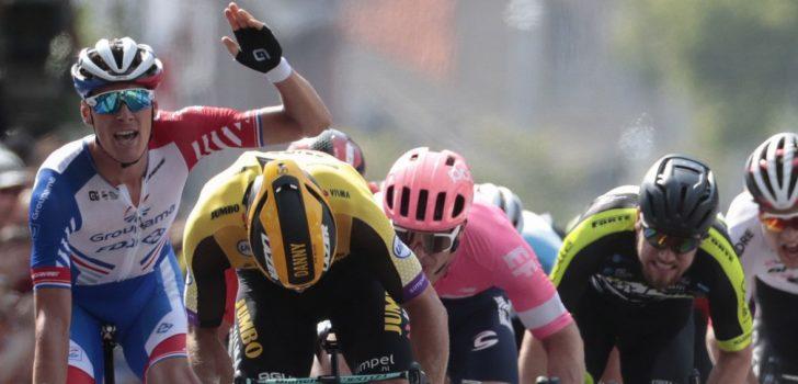Danny van Poppel verliest NK-zilver door onreglementaire sprint