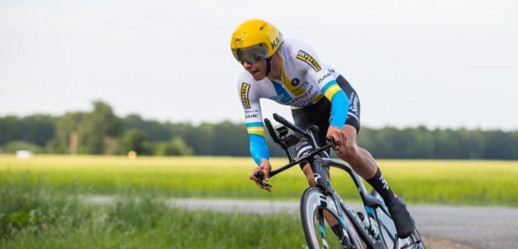 Jasper De Plus klokt snelste tijd in Tacx Tijdrit Emmen