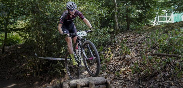 Milan Vader en Anne Terpstra blinken uit op de mountainbike