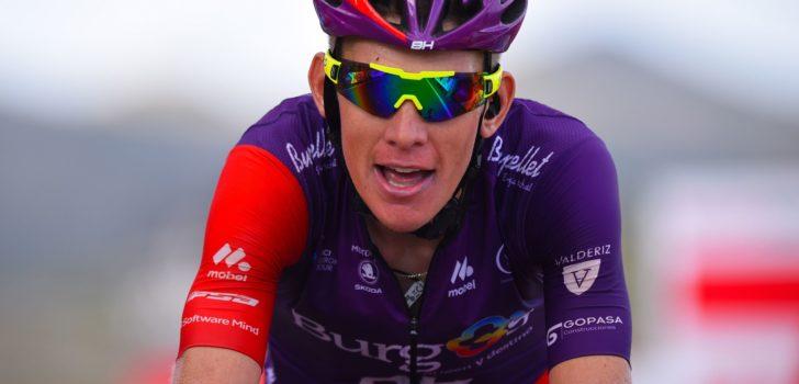 """Jetse Bol blijft bij Burgos-BH: """"Hoop op deelname aan Vuelta"""""""