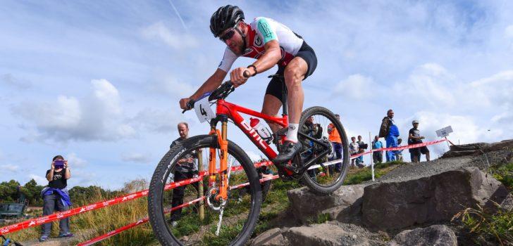 Lars Forster wint EK Mountainbike