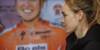 """Anna van der Breggen: """"Doorgaan Tour ook belangrijk voor vrouwenwielrennen"""""""