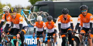 Op de fiets naar Harrogate met het Oranje Peloton