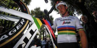 Wereldkampioen Mads Pedersen ook van start in Ronde van Polen