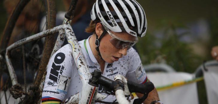 Wereldkampioene Sanne Cant start in Ruddervoorde