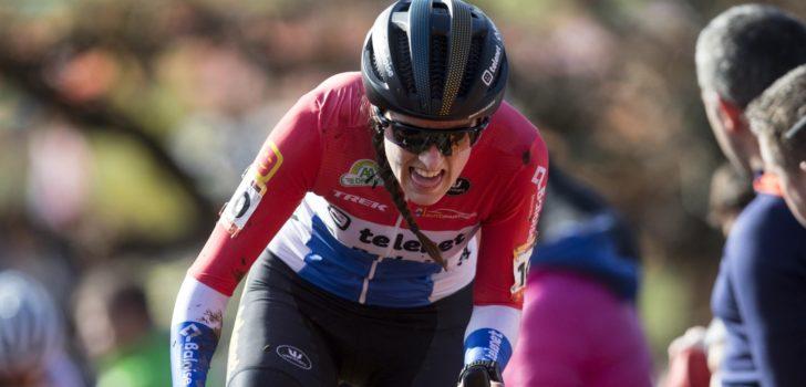 """Lucinda Brand spurt naar de zege in Kortrijk: """"Wegervaring kwam om de hoek kijken"""""""