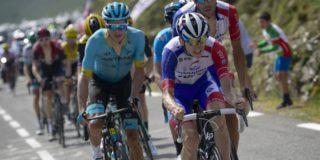 David Gaudu mist Tour du Finistère na valpartij