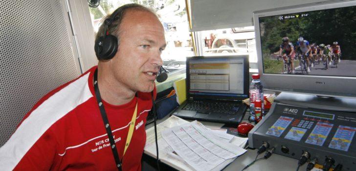 Herbert Dijkstra geeft dit jaar geen tv-commentaar tijdens Tour