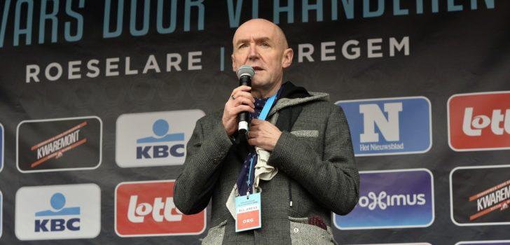 Michel Wuyts moet in 2022 met pensioen als wielercommentator