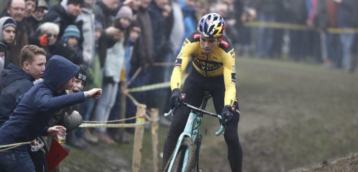 """Van Aert positief verrast door podiumplaats in Zonnebeke: """"Het viel goed mee"""""""