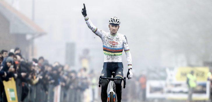 """Mathieu van der Poel: """"Het ging beter dan verwacht"""""""