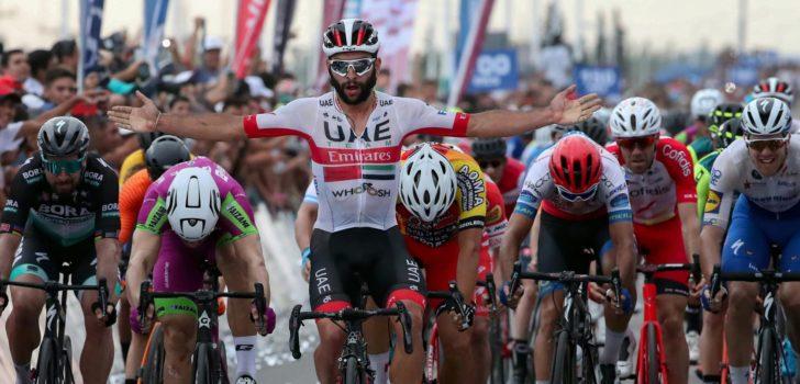 Fernando Gaviria wint chaotische sprint in tweede rit San Juan