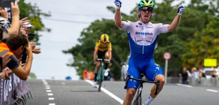 Shane Archbold houdt George Bennett van Nieuw-Zeelandse wegtitel
