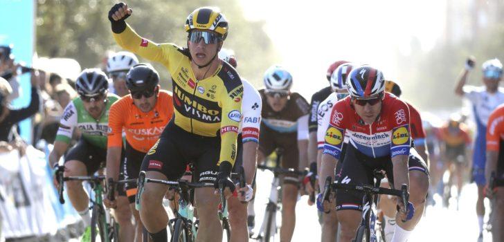 Groenewegen troeft Jakobsen af in openingsrit Ronde van Valencia