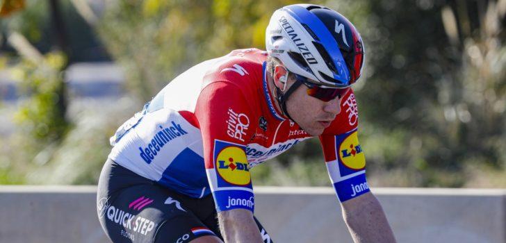 """Fabio Jakobsen na eerste seizoenszege: """"Blij dat ik voor deze ploeg rijd"""""""