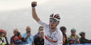 Tadej Pogacar klasse apart in koninginnenrit Ronde van Valencia, Poels tweede