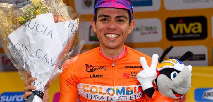 """Sergio Higuita: """"Vorig jaar droomde ik nog van deze eindwinst"""""""