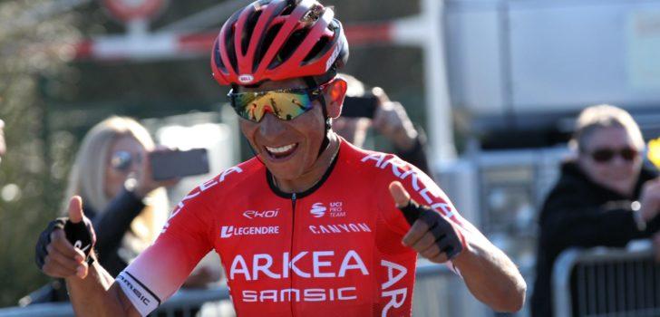 "Ploegbaas Arkéa-Samsic: ""Nairo Quintana kan Parijs-Nice winnen"""
