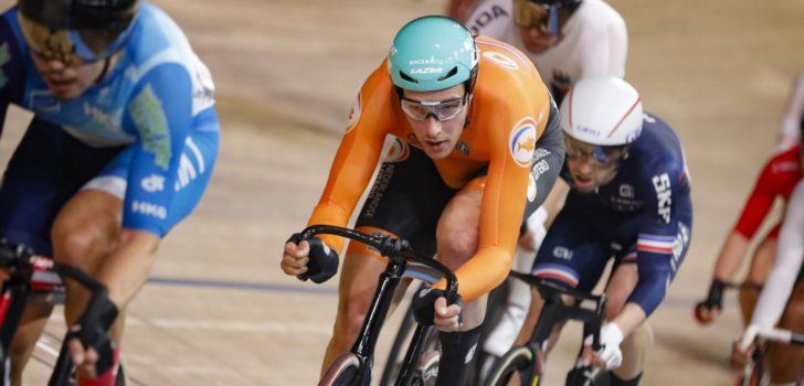 Zilver Jan-Willem van Schip op omnium, Benjamin Thomas wereldkampioen