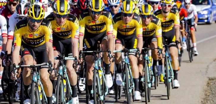'Jumbo-Visma in 2021 op fietsen van Cervélo'