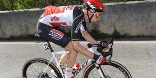Tim Wellens kopman Lotto Soudal in Ronde van Lombardije