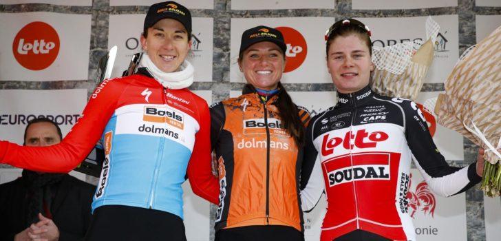 """Van den Broek-Blaak na derde zege in Le Samyn: """"Deze wedstrijd ligt me"""""""
