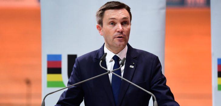 """UCI-voorzitter David Lappartient: """"Zware sancties om veiligheid te verbeteren"""""""