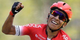 Colombianen mogen weer buiten trainen dankzij Nairo Quintana