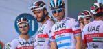 Team UAE maakt selecties bekend: geen Tour voor Gaviria en Ulissi