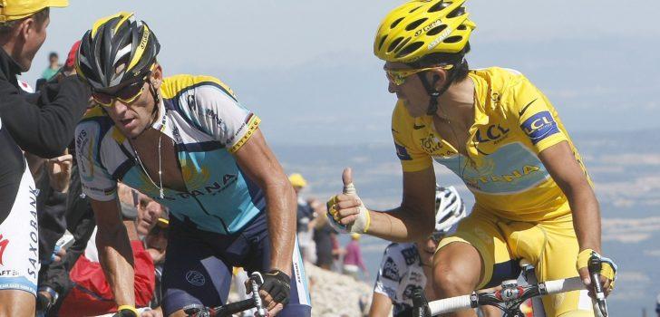 """Contador over de rivaliteit met Armstrong in de Tour 2009: """"Don't fuck with me, zei hij"""""""