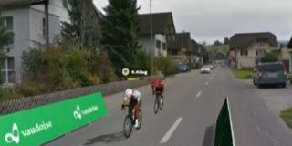 Küng wint duel met Matthews en zegeviert in virtuele Ronde van Zwitserland