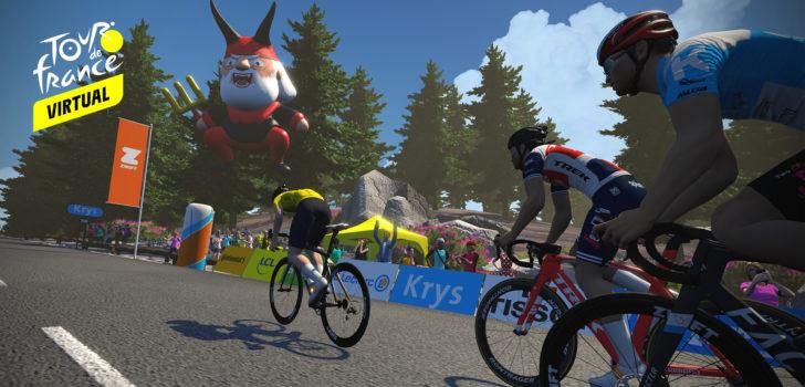 Zwift en ASO lanceren virtuele Tour de France