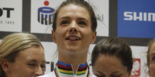 Meervoudig wereldkampioene op de baan Amy Cure (27) stopt
