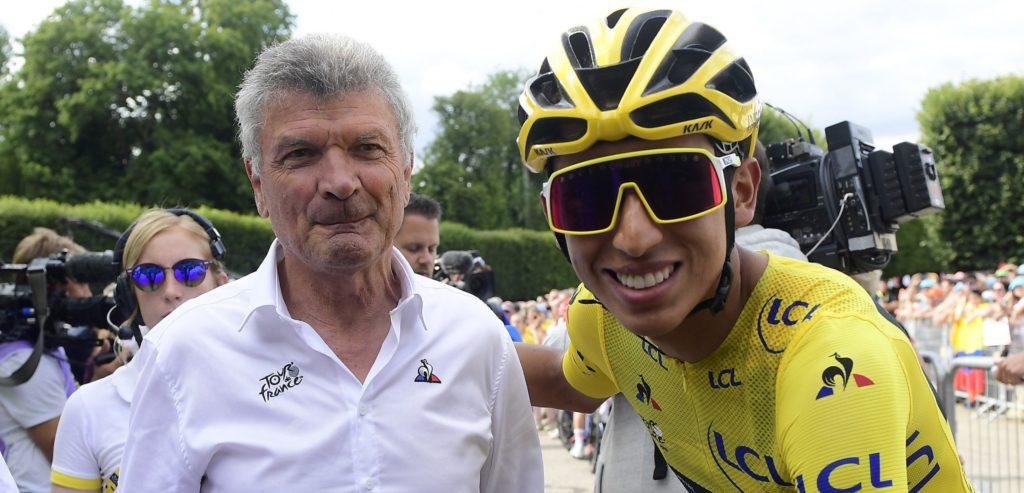 Bernard Thévenet en Egan Arley Bernal in de Tour de France
