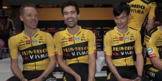 """Geen NK wielrennen voor Tom Dumoulin: """"Ik blijf in Frankrijk"""""""