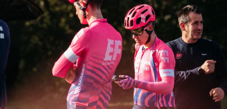 EF Pro Cycling biedt renners die salaris inleverden een nieuw contract aan