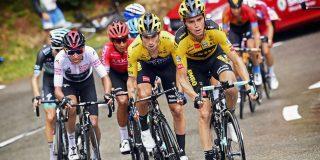 Noodweer in Critérium du Dauphiné, renners moeten schuilen