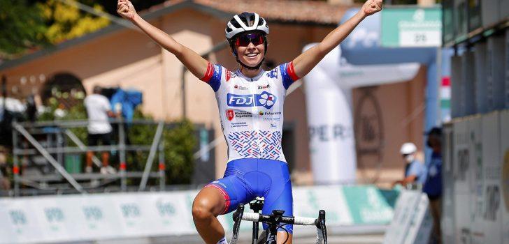Cecilie Uttrup Ludwig zegeviert in Giro dell'Emilia