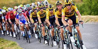 "Wout van Aert: ""Die hele gele trein voor me gaf veel motivatie"""