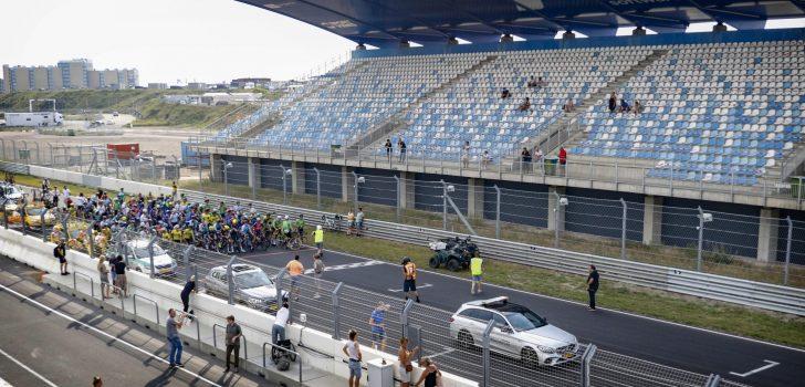 GP Cycling Lab op Zandvoort gestaakt vanwege noodweer
