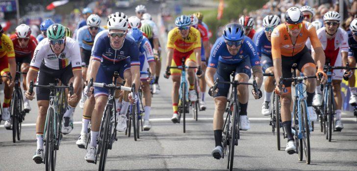 Giacomo Nizzolo wint EK Plouay, Mathieu van der Poel vierde